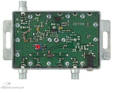 Indoor antenna amplifier: AWS-1142 SilverLine (47-862MHz, 2-out, 17/19dB)