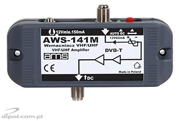 Indoor Antenna Amplifier: AWS-141S