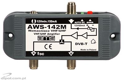 Indoor Antenna Amplifier - AWS-130S (with power supply)
