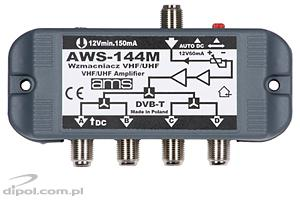 Indoor Antenna Amplifier - AWS-144 (with power supply)
