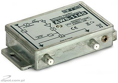 Indoor Antenna Amplifier: AWS-1145<br />(87.5-862 MHz; return ch. 5-65 MHz)
