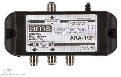 ARA 1/2F Active Antenna Splitter