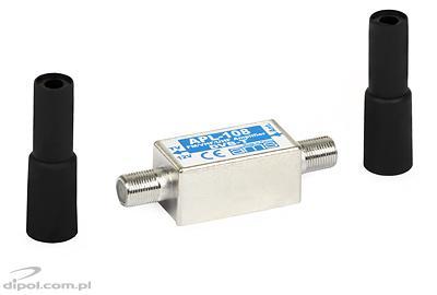 Antenna előerősítő: APL-108 (VHF/UHF, árnyékolt)