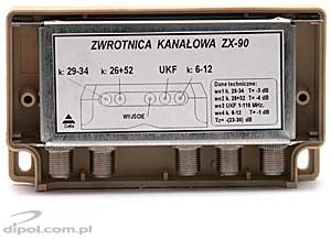 Antenna Multiplexer - ZX-90 (UKF=FM/6-12/26 and 52/29-34 ch.)