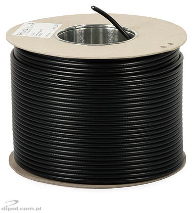 Coaxial Cable (75 ohm, class A): TRISET-113 PE (gel-filled) [1m]