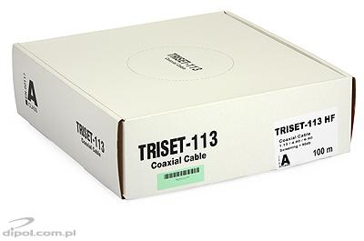 Coaxial Cable (75 ohm): Triset-113 HF 1.13/4.8/6.8 [100m]