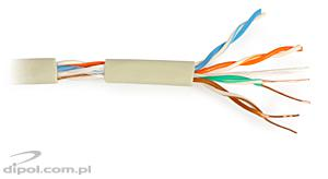CAT 5e UTP Cable: NETSET BOX U/UTP 5e [305m], indoor