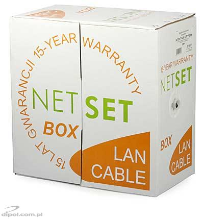 Cat 5e UTP Cable: NETSET UTP PE (outdoor) [1m]