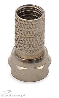 F-connector: 5.5mm (twisted-on, iron)