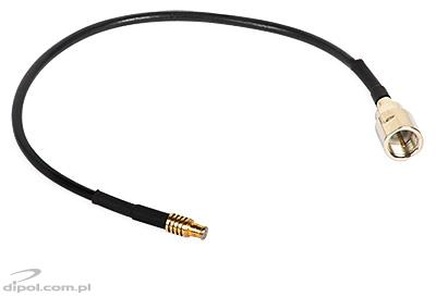 FME plug to CRC9 (SMB) cable, TS5