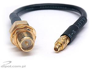 MMCX Plug to SMA/RP Socket Cable (RG-174)