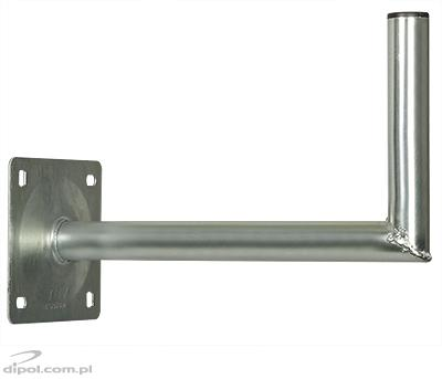 Wall Antenna Mount: USL-38/400-S (angled, Al-Zn coating)