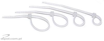 Cable Tie: TZ10/3Ns (white; 100 pcs)