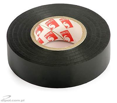 Insulation Adhesive Tape: PVC SCAPA 2702<br />(0.13*19mm/25m, black)