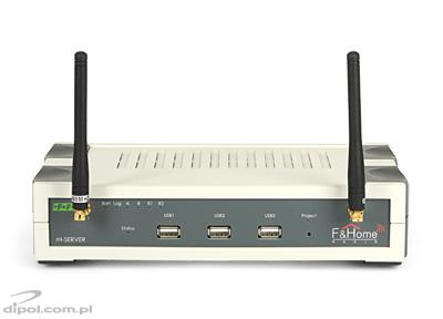 F&Home Radio System: rH-SERWER LR (main unit - Long Range)