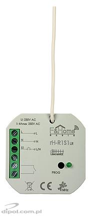 One-channel Relay & One-channel Sender: F&Home Radio rH-R1S1 LR