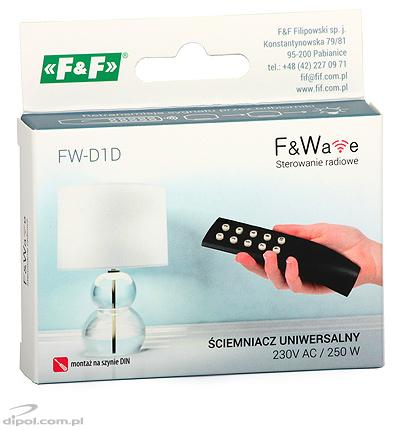 Wireless Dimmer F&Wave FW-D1D (for DIN rail)