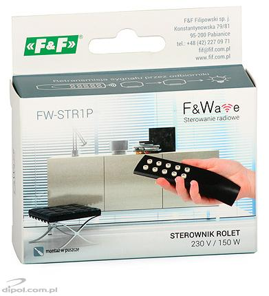 Roller Blind Controller: F&Wave FW-STR1P (0.6A/230VAC)