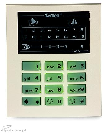 LED Keypad for CA-10 Panels (SATEL): CA-10 KLED-S