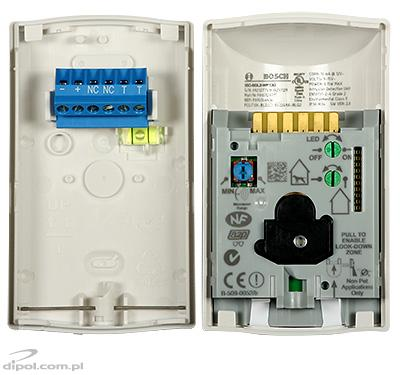 Detector mișcare BOSCH ISC-BDL2-WP12G (dual PIR+MW, 45kg-pet-friendly)