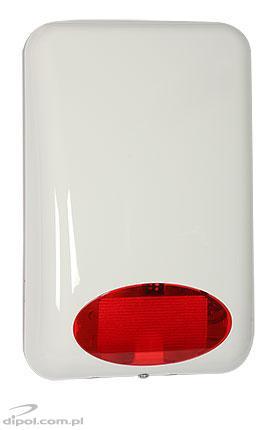 SPL-5010 R Zewnętrzny sygnalizator optyczno-akustyczny SATEL