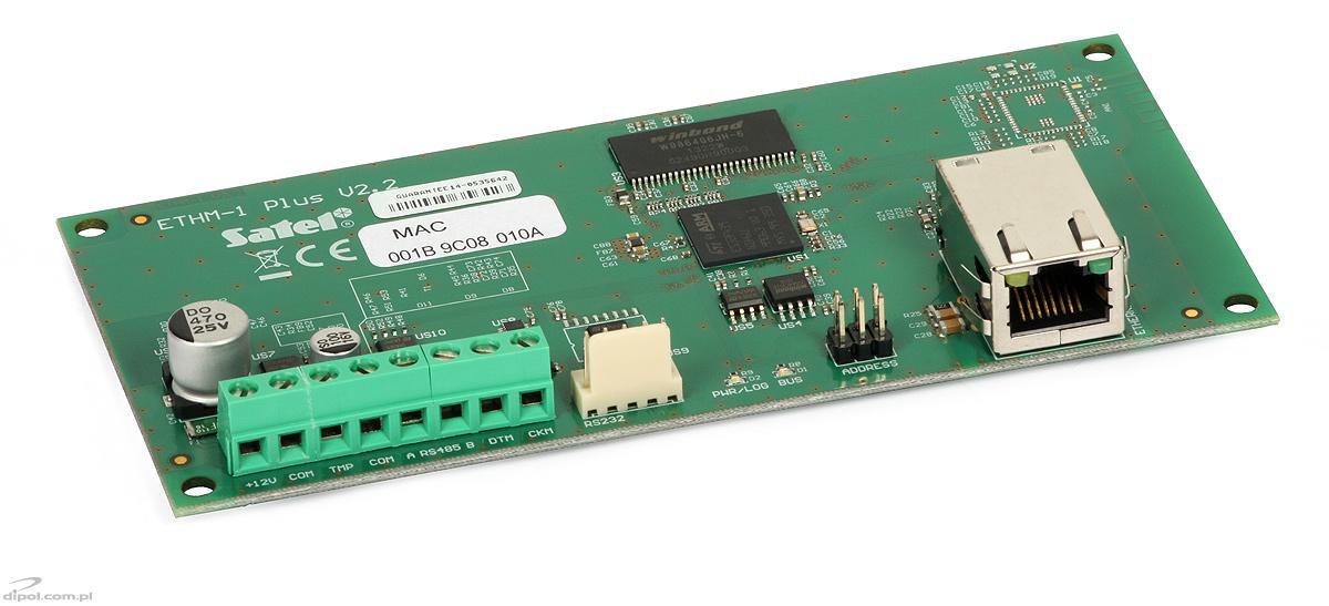 ETHM-1 Plus Ethernetowy moduł komunikacyjny SATEL
