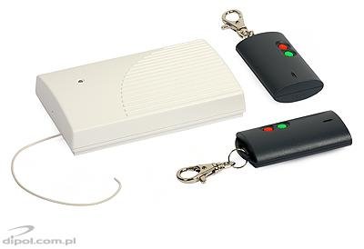 Wireless Remote Controller Set: Satel RE-2K (2-ch, 2x T2 key fob)