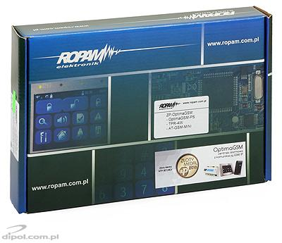 Alarm Control Panel ROPAM OptimaGSM-PS (GSM module, automation functions)