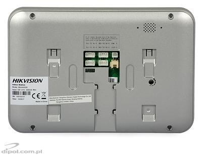 Indoor Station: Hikvision DS-KH2220 (monitor for analog video door phones)