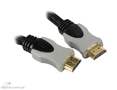 Cablu HDMI 10m aurit 28AWG v1.4 High Speed cu Ethernet