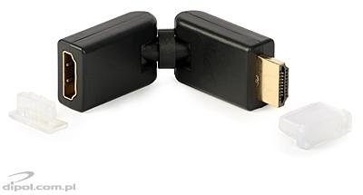 HDMI Male to HDMI Female Adapter 360/360