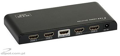 Signal-HD HDMI 2.0 Splitter 1x4 (4k*2k@60Hz)