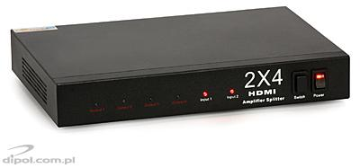 Signal-HD HDMI Switcher-Splitter 2x4