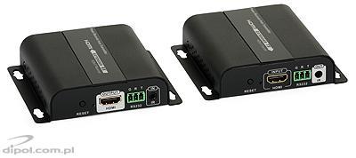 HDMI - IP konverter/Extender (1x5e, távolról meghajtott vevő): Signal HD (multicast)