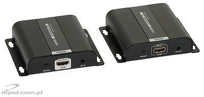 HDMI - IP konverter/Extender (1x5e, PoE 802.3af): Signal-HD (multicast)