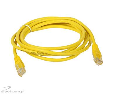 UTP Patch Cable Cat5e (2m, yellow)