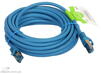 Patch Cable S/FTP Cat6A (5m, azul)