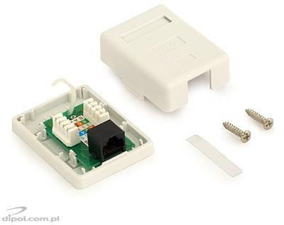 RJ45 Socket: PN-KS-8b (Cat 5e, surface, single)