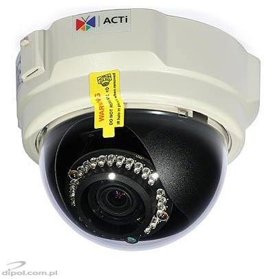 1.3 Mpx IP Dome Camera: ACTi TCM-3511 (H.264, IR)