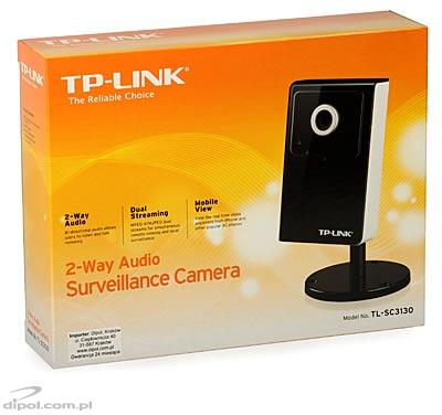 IP Camera: TP-LINK TL-SC3130 (0.5 lx, VGA, 30fps, MPEG-4, 4 mm) - CLEARANCE SALE!