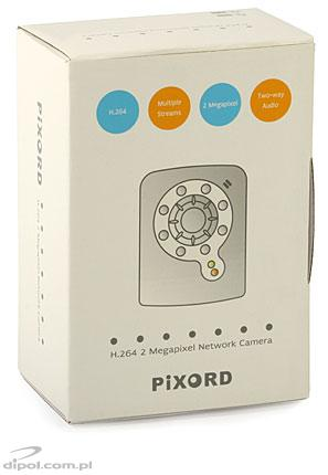 Wireless megapixel network camera: PIXORD P606W<br /> (2.0 Mpx, H.264, IR)