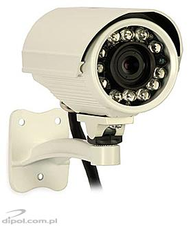 Outdoor Megapixel IP Camera: Pixord PL-621E (2Mpx, H.264, PoE)