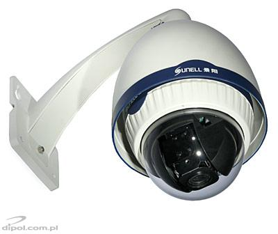 Camera IP speeddome Sunell 1.3MP SN-IPS54/70DN/Z18W (1.3 MP, ONVIF)