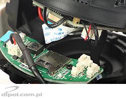 Kamera IP kopułowa wewnętrzna Full HD (2MPix) Aptina Sunell SN-IPD54/12VDR ONVIF
