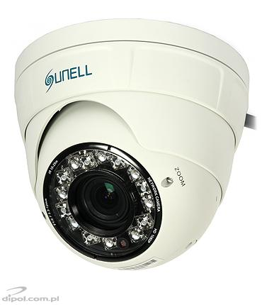 Dome IP Camera: Sunell SN-IPR54/14ALDN (2MP, 3.3-12mm, 0.1 lx, IR up to 30m)
