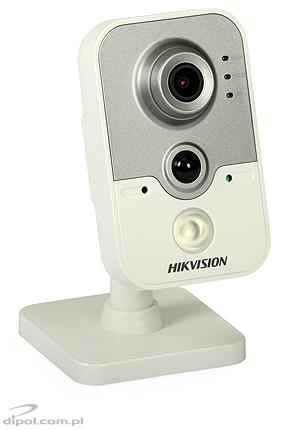 Kamera IP typu cube Hikvision DS-2CD2420F-IW (2 MPix, 2.8 mm, 0.028 lx, IR do 10m, Wi-Fi, PoE, PIR, analityka)