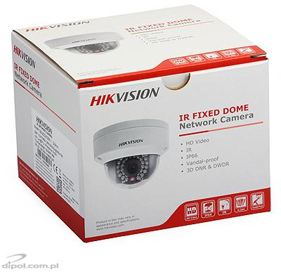Kamera IP kopułowa Hikvision DS-2CD2110F-I (1.3 MPix, 2.8 mm, 0.01 lx, IK10, IR do 30m)