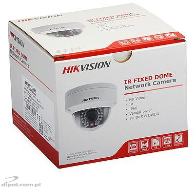 Camera IP: Hikvision DS-2CD2142FWD-I (4MP, 2.8mm, 0.01 lx, IK08, IR până la 30m)