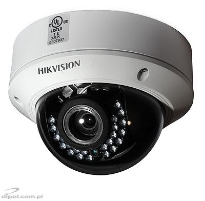 3Mpix IP dome kamera Hikvision DS-2CD2732F-I (3MP, 2.8-12mm, 0.07 lx, IR up to 30m)