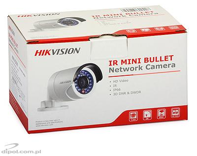 Kompaktná IP kamera: HIkvision DS-2CD2010-I (1.3MP, 4mm, 0.01 lx, IR do 30m)
